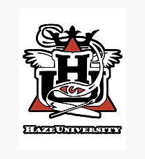 HAZE UNIVERSITY Photographic Print