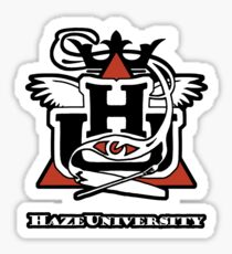 HAZE UNIVERSITY Sticker
