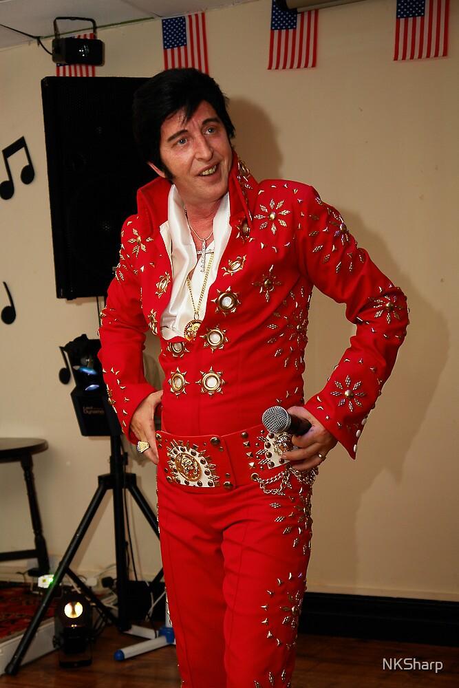 Deak as Elvis at Porthcawl Elvis Festival. by NKSharp