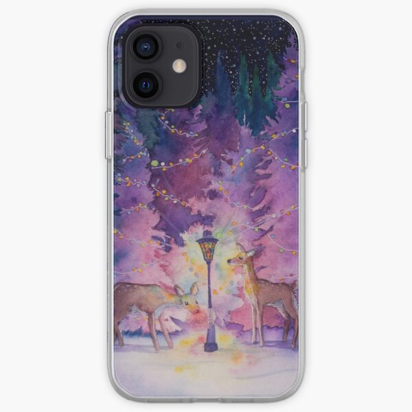 Merry and Bright iPhone Soft Case