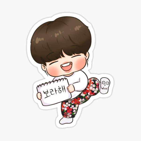 RUN BTS Jimin Sticker