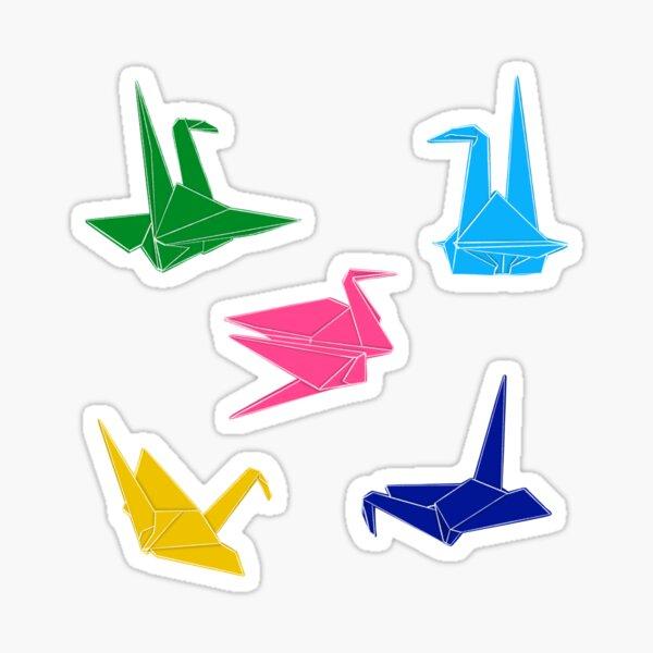 Origami Bird Sticker Pack Sticker