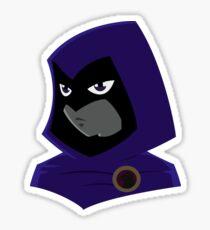 Teen Titans - Serious Raven Sticker