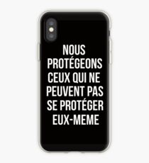 Teen Wolf cover - we protect those who can't protect themselves iPhone Case