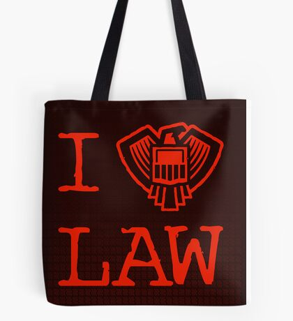 Law Lover Tote Bag