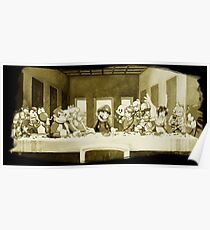 Last Supper Smash Bros Poster
