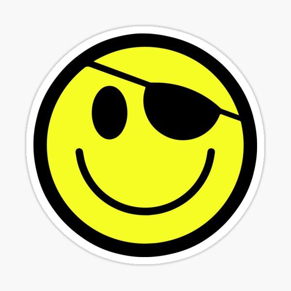 Hacker Smiley - Original Sticker