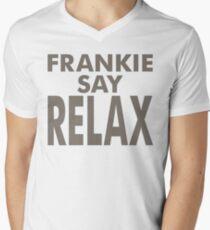 FRANKIE SAY RELAX Men's V-Neck T-Shirt