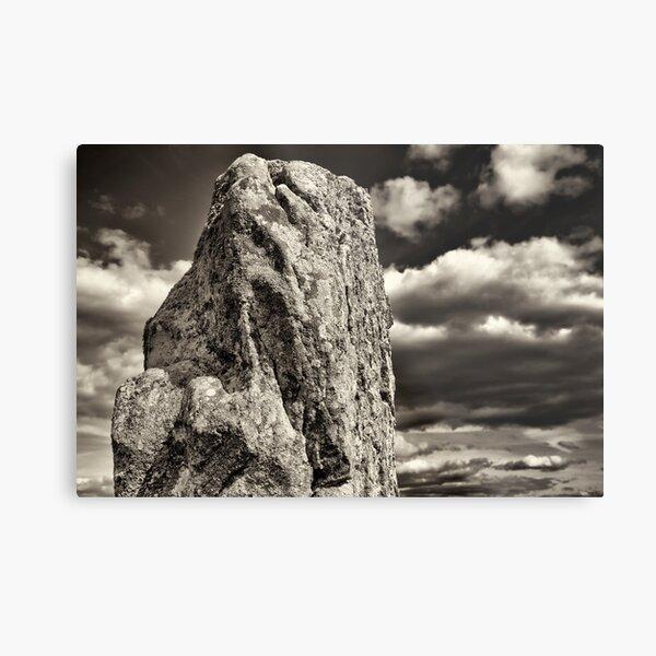 Spirit Megalith, Carnac 2012 Metal Print