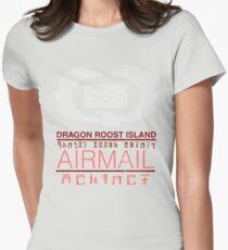 Zelda Wind Waker - Dragon Roost Island Airmail Women's Fitted T-Shirt