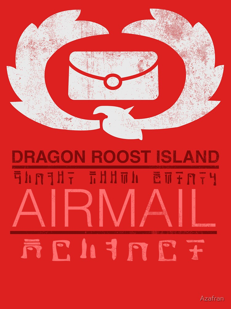 Zelda Wind Waker - Dragon Roost Island Airmail | Unisex T-Shirt