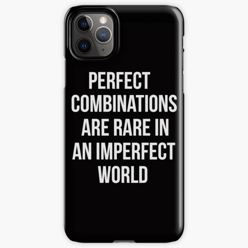 Teen Wolf cover - perfect combinations are rare in an imperfect world iPhone Case