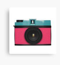 retro camera collection Canvas Print