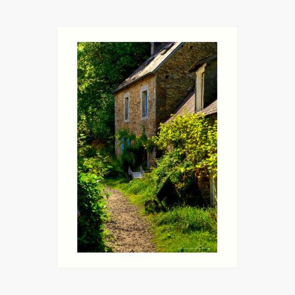 House, Bois d'Amour  2012 Art Print
