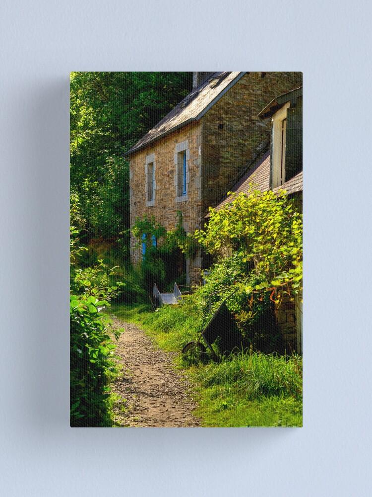 Alternate view of House, Bois d'Amour  2012 Canvas Print