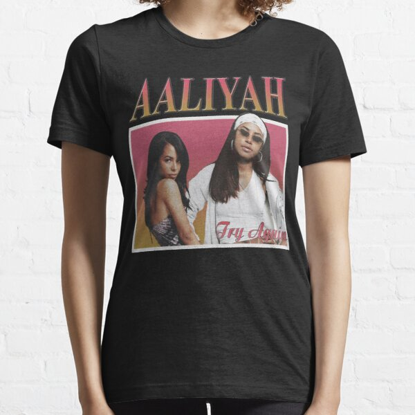 Try Again one in a million aaliyah singer gift for fans and lovers Essential T-Shirt