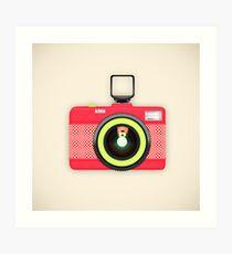 toy camera Art Print