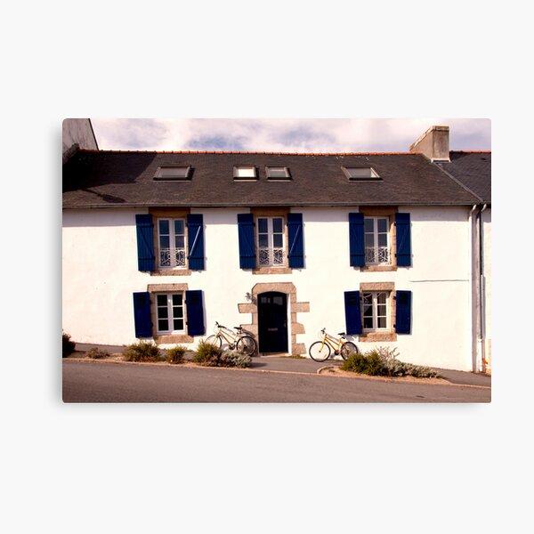Inn, Brittany  2012 Canvas Print