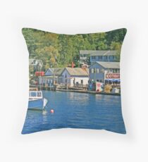 Boothbay Harbor Throw Pillow
