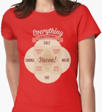 Everything is better with Bacon Women's Fitted T-Shirt