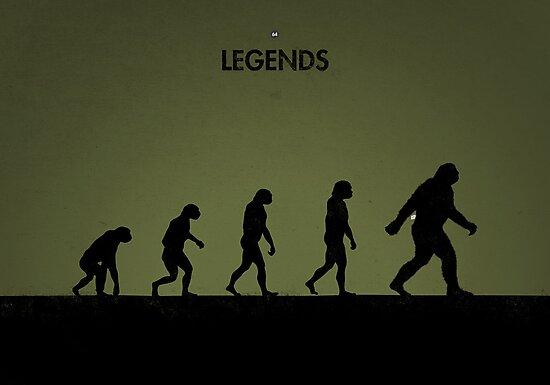 99 Steps of Progress - Legends by maentis