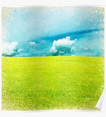 green field Poster