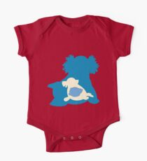 PKMN Silhouette - Spheal Family Kids Clothes