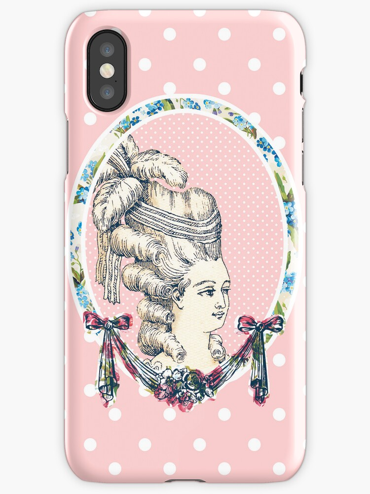 Pink Retro Vintage Marie Antoinette by hellohappy