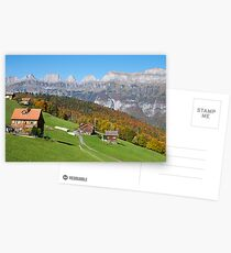 AUTUMN IN THE SWISS MOUNTAINS Postcards