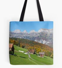 AUTUMN IN THE SWISS MOUNTAINS Tote Bag