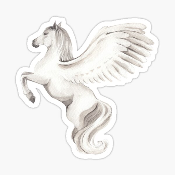 Print with a Pegasus Sticker
