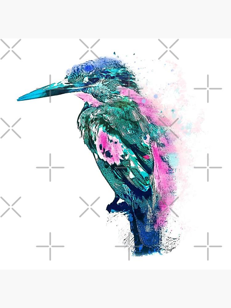 Eisvogel Aquarell von ChristaFossati