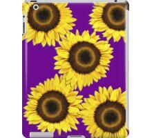 Ipad case - Sunflowers Purple Haze iPad Case/Skin
