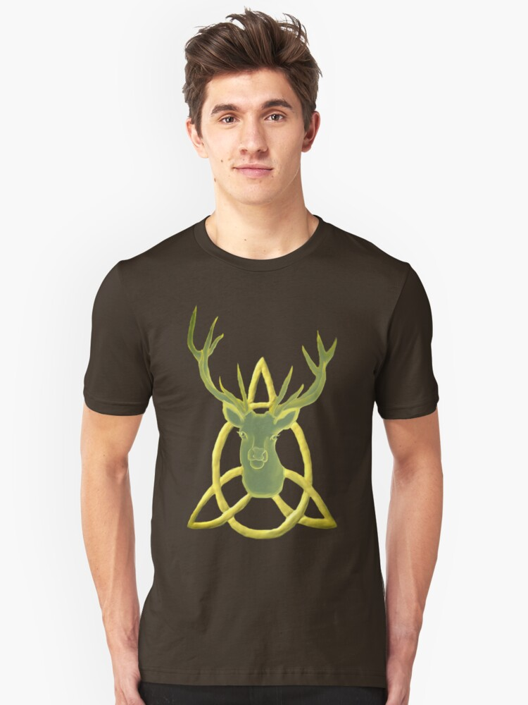Antlered King of Trinity Unisex T-Shirt Front