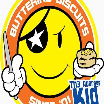 Th3AverageKid Buttering Biscuits Since '01 by Th3AverageKid