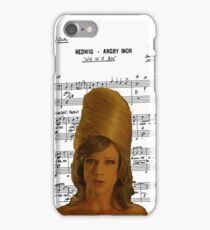 Wig In A Box ~ Hedwig and the Angry Inch ~ Sheet Music Collection iPhone Case/Skin
