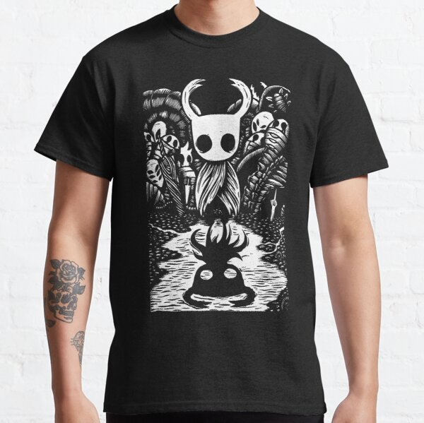 Ghost Knight Graphic Art Hollow Knight Funny Game T-shirt classique