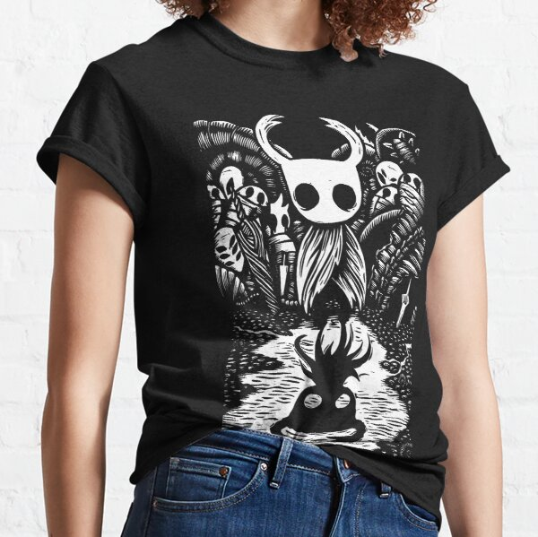 Ghost Knight Graphic Art Hollow Knight Funny Game Classic T-Shirt