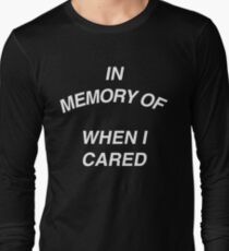 In Memory of Long Sleeve T-Shirt