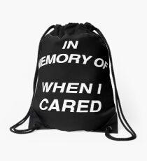 In Memory of Drawstring Bag