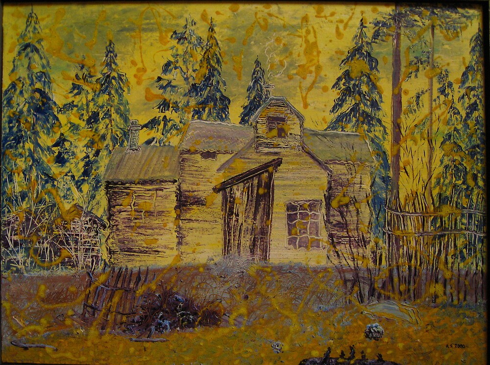 November. House. by Alexey Yarygin