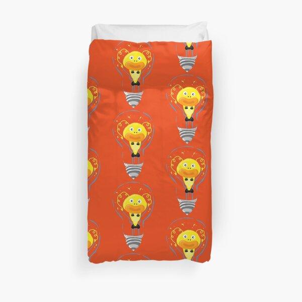 Zapfish Lightbulb Duvet Cover