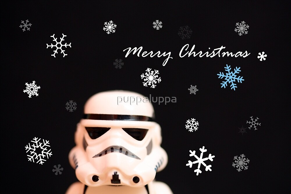 Trooper Christmas card by puppaluppa