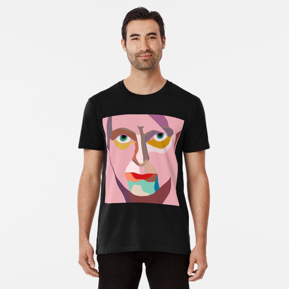 PINK THUMB CUBE Premium T-Shirt
