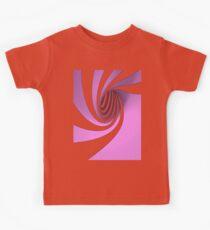 Purple Swirl Kids Tee