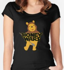 Honey Wars Women's Fitted Scoop T-Shirt
