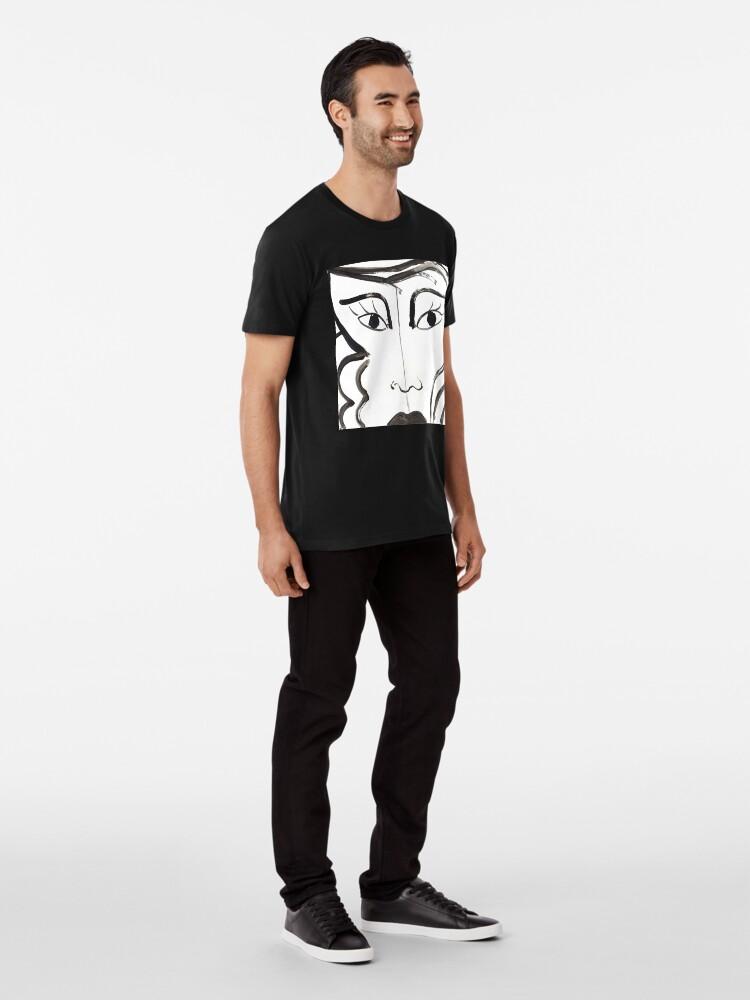 Alternate view of BIANCONERO Premium T-Shirt