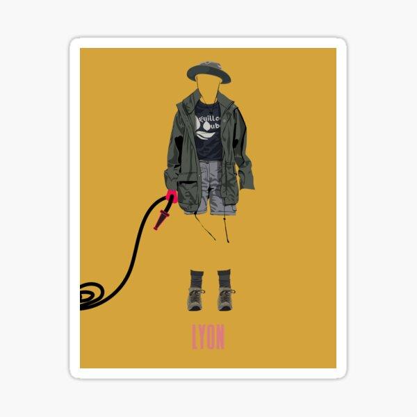 Habillé jusqu'à la mort - LYON Sticker