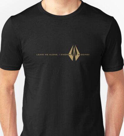 Kimi Raikkonen - I Know What I'm Doing! - Lotus Gold T-Shirt