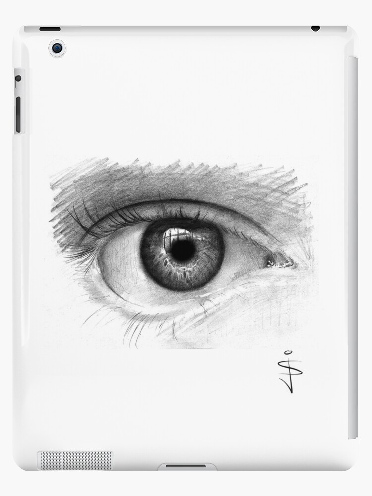 iPad Case - Eye by Jan Szymczuk